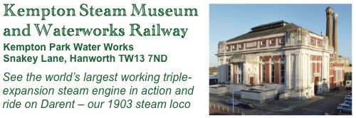 Kempton Steam Museum and Waterworks Railway